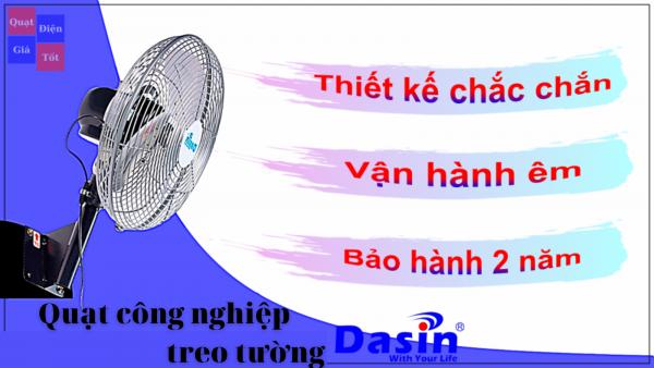 Quạt công nghiệp treo tường giá rẻ - chất lượng cao của Dasin